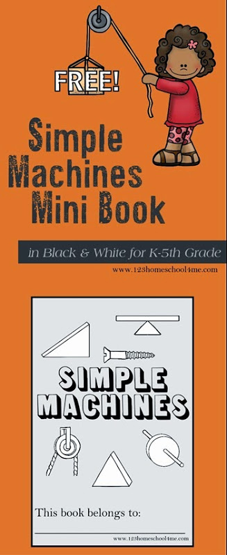 FREE Simple Machines Printable Book