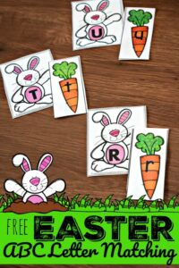 easter worksheet preschool
