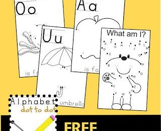 Alphabet-Dot-to-Dot-Worksheets