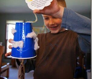 Jesus Ascends Bible Craft for Kids