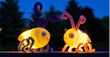 Firefly Bug Craft for Kids