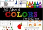 All About COLOR Worksheets