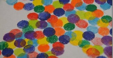 Spring Ink Pad Craft for Kids
