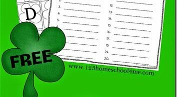 FREE St Patricks Day Create A Word