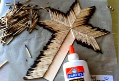 Matchstick Cross Easter Craft
