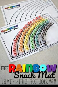 rainbow color matching game