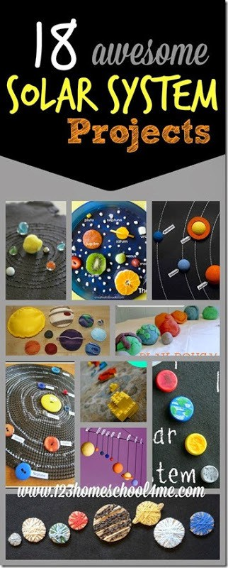 24 EPIC Solar System Projects for kids - creative and fun science projects for prek, kindergarten, first grade, 2nd grade, and elementary age kids to learn about the solar system, planets, sun, or solar system for kids. #solarsystem #planets #scienceprojects #homeschool #kidsactivities