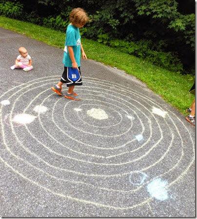 Chalk Solar System