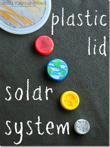 Plastic Lid Solar System