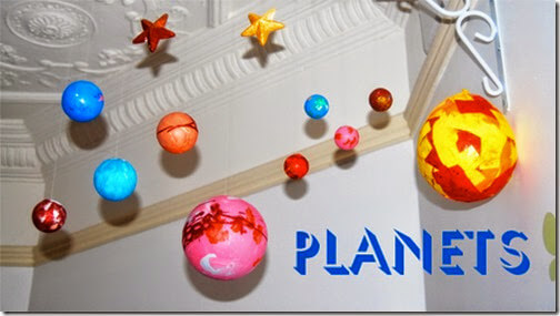 Paper Mache Planets Craft for Kids