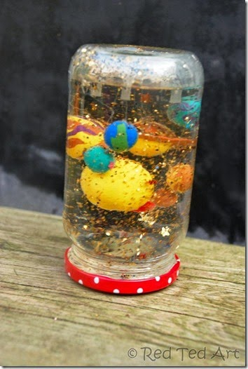 Planets Snowgloe Craft for Kids