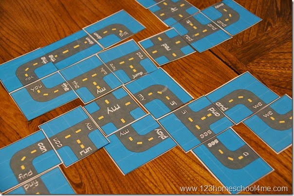 Preschool Sight Words Games