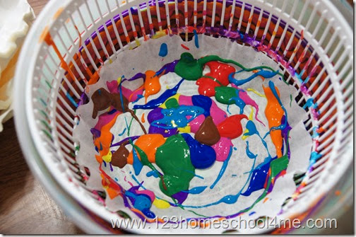 Spin Art Tips and tricks for kids crafts