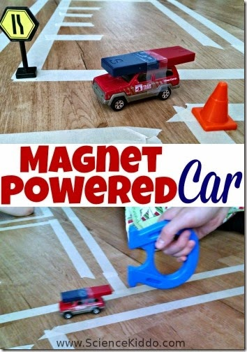 Magnet Powered Car Science Activity