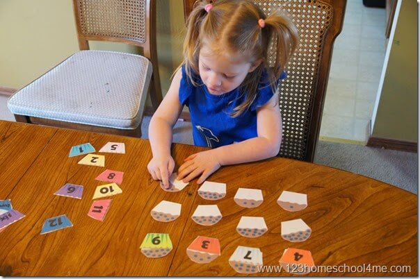 Practice Counting for Toddler Preschool and Kindergaten