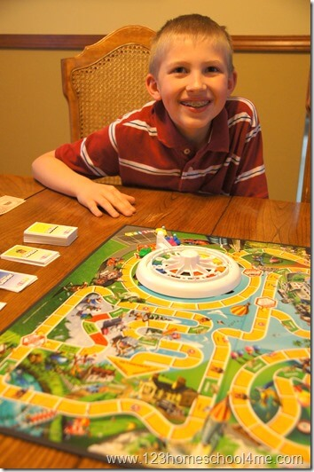 The Game of LIFE game is a fun family game