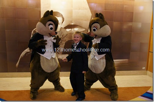 55 Reasons you will LOVE a Disney Cruise - fun character costumes
