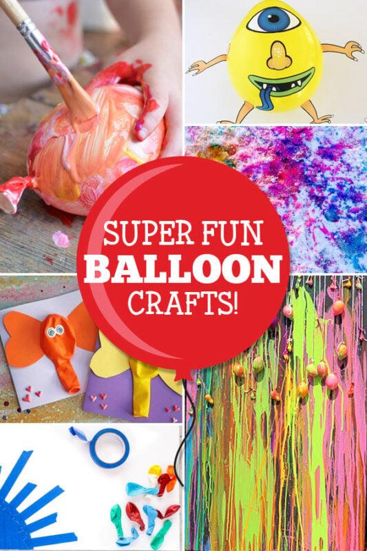 balloon craft ideas