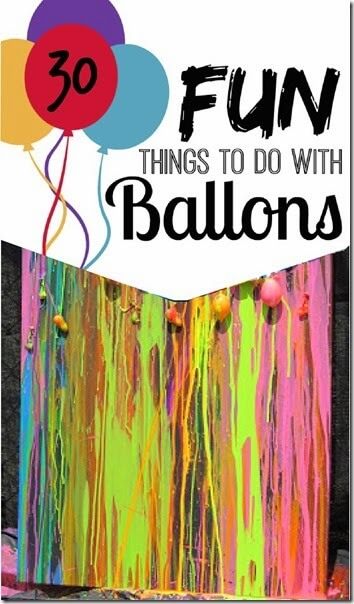 30 Fun Things To Do With Balloons 123 Homeschool 4 Me