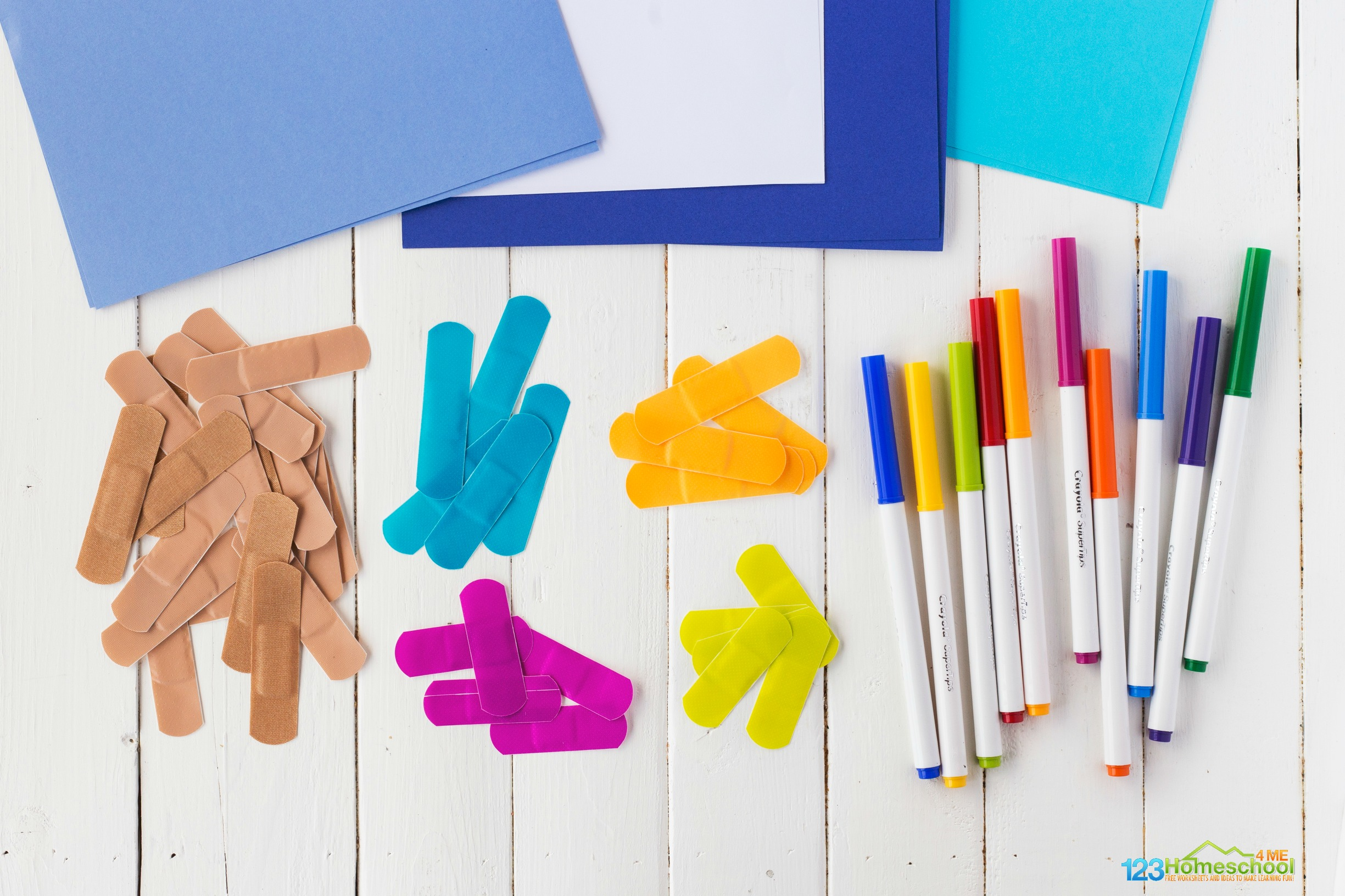 bandaid activity for kids
