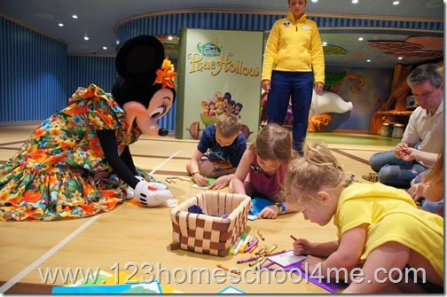 disney cruise kids program is amazing