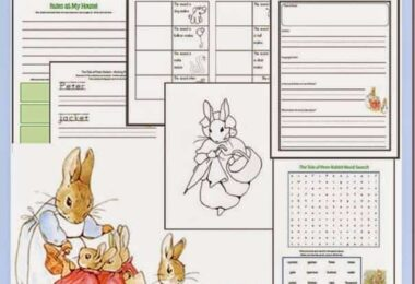 Tale of Peter Rabbit Printables