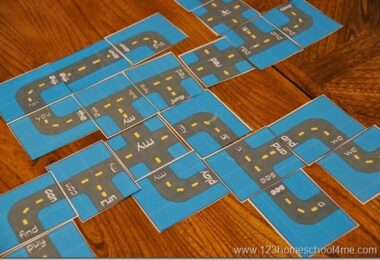 Crazy Roads Sight Words Game