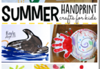 Summer Handprint Crafts