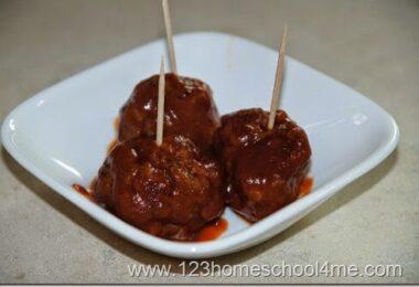 Appetizer BBQ Meatballs Recipe