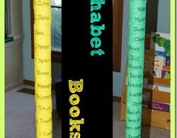 Books of the Bible Pool Noodle Stack