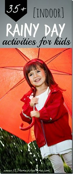 raindy day activities for kids