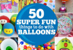 Balloon and summer go together like peanut butter and jelly. Enjoy an EPIC summer with these Fun Things to Do with Balloons.