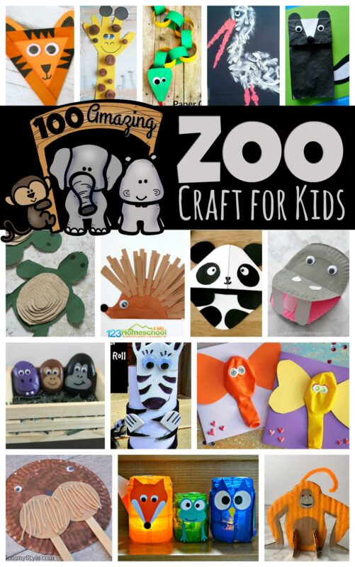 100 Amazing Zoo Craft Activities | 123 Homeschool 4 Me