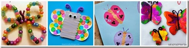 Butterfly Crafts for Kids 12-15