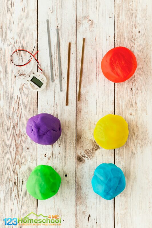 how to make your own, diy squishy circuits inlcuding EASY electric dough recipe