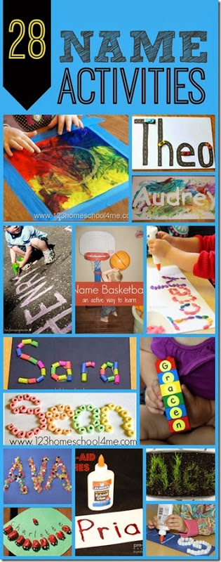 Help kids learn their name with these fun name activities! It takes lots of practice to for kids to learn their letters enough to know when someone is spelling their name, but name recognition is a very important skill for kids! These name crafts and name recognition activities are perfect for toddler, preschool, pre-k, and kindergarten age kids.