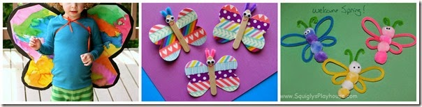 Unique butterfly crafts