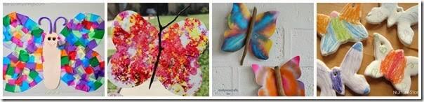 beautiful butterfly crafts for preschool