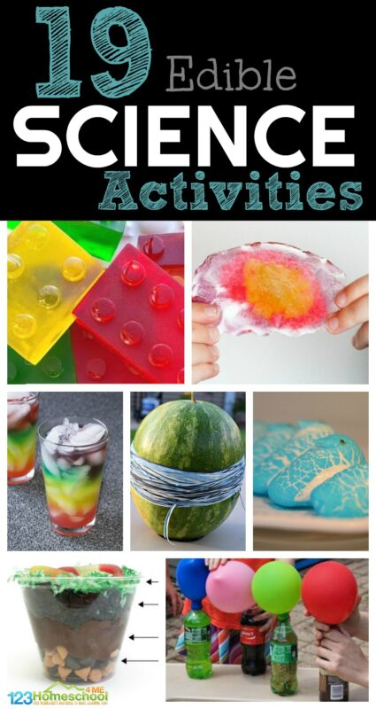 19 Edible Science ideas for kids of all ages