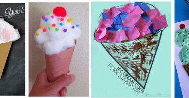 Ice Cream Crafts
