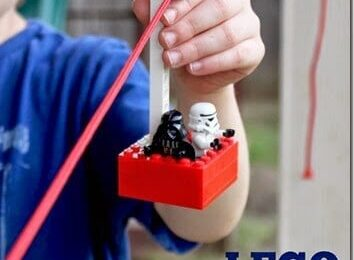 Lego Zipline Kids Activity