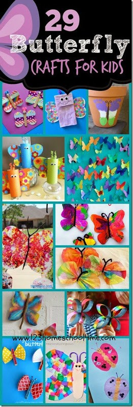 29 Butterfly Crafts For Kids 123 Homeschool 4 Me