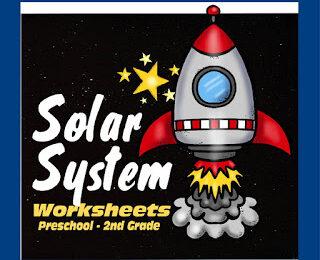 Solar System Printable Worksheets