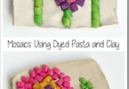 Pasta Mosaic Kids Activities