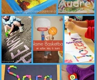 28 Name Activities for Kids