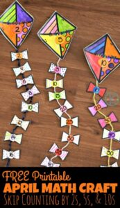 Skip Counting Math Craft