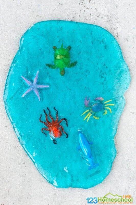 ocean activities for preschoolers