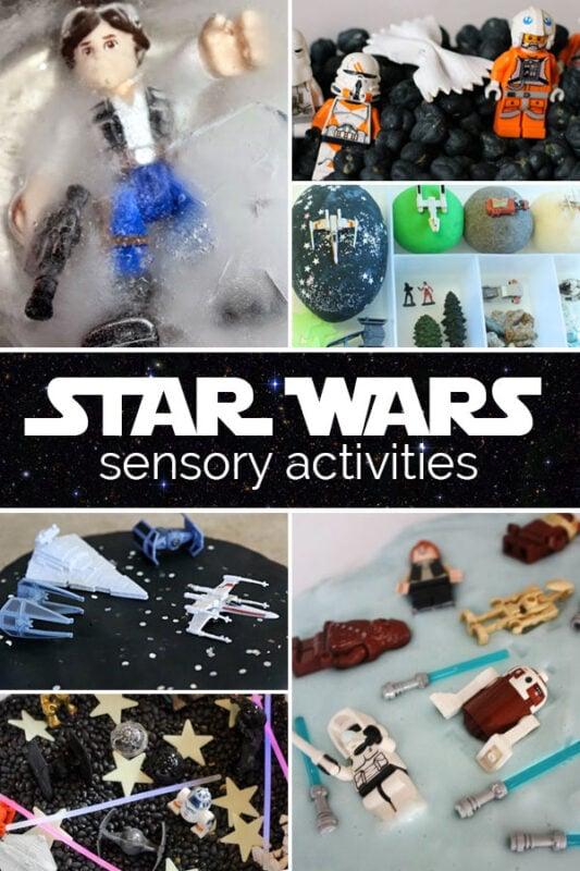 Star Wars Sensory Activities