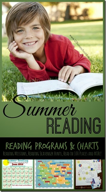 So many fun FREE printable Summer Reading programs, charts, printable book lists, reading lists and more. LOVE THIS!!