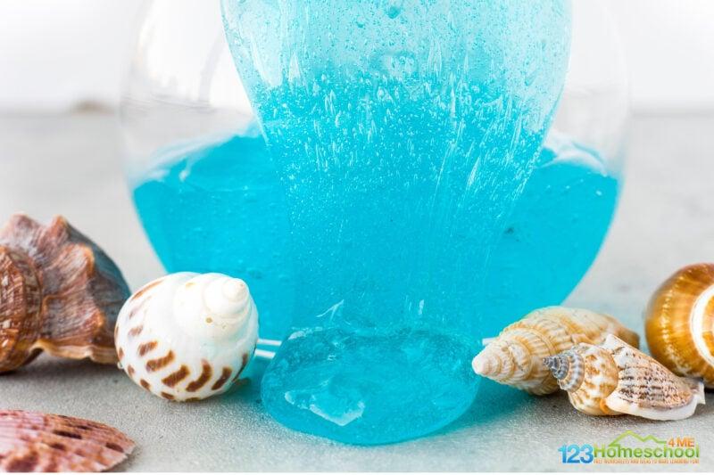 under the sea slime recipe